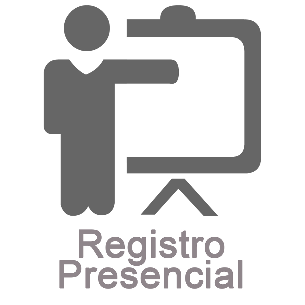 Registro presencial