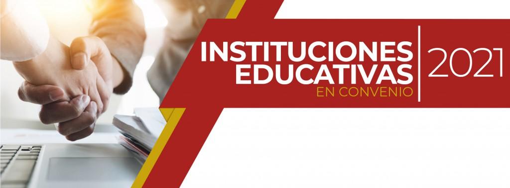 Instituciones educativas
